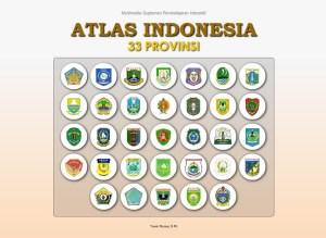Atlas Indonesia 33 Provinsi
